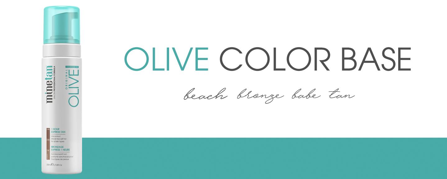 Olive Color Base Self Tan Foam