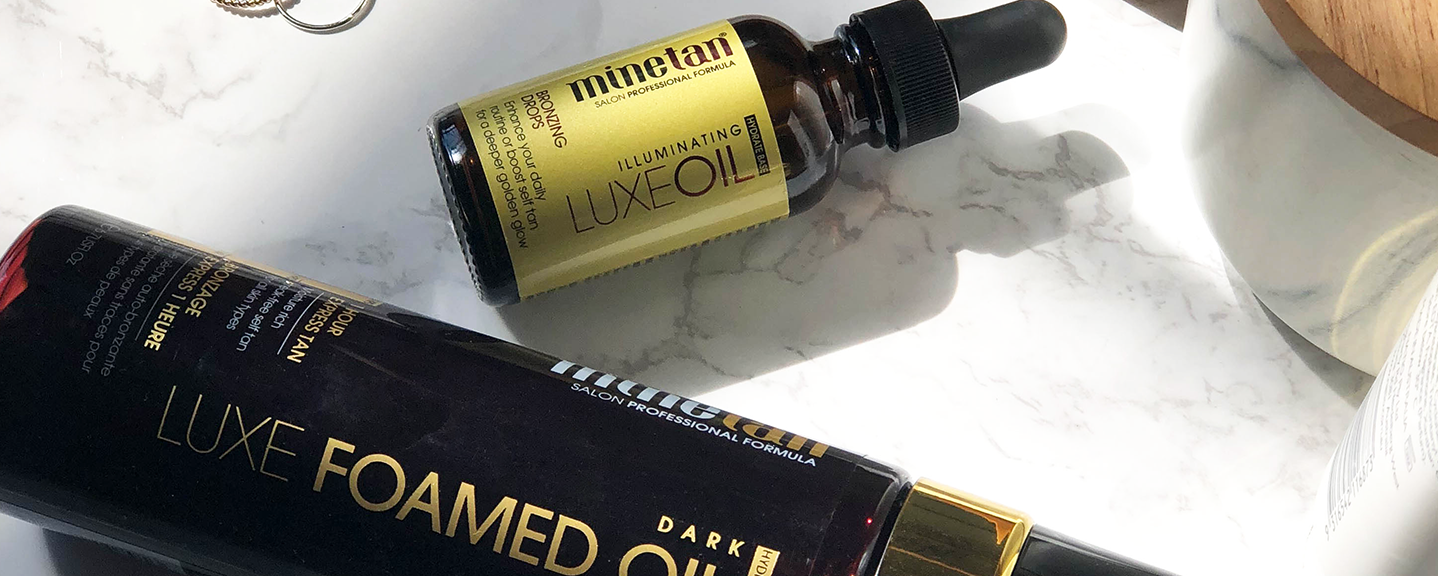 MineTan's Luxe Oil Tanning Treatments