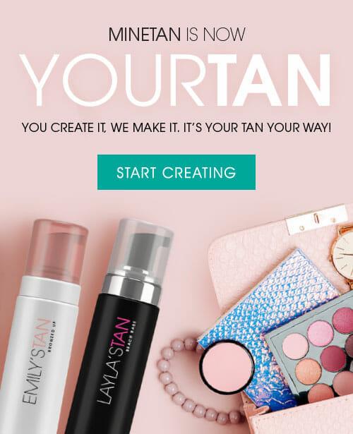 YourTan | Customise Your Own Self Tan | MineTan